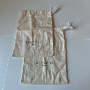 Bundle of Authentic Jimmy Choo Dust Bags